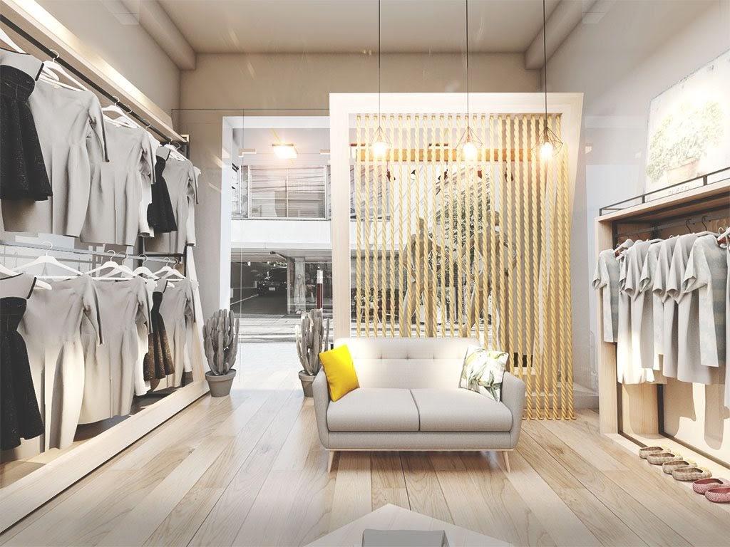 Lát Sàn Gỗ Cho Shop Quần Áo