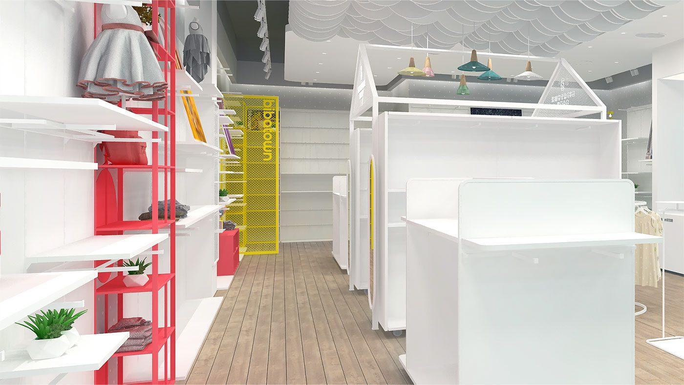 Thiết Kế Shop Thời Trang Trẻ Em Ở Đà Nẵng