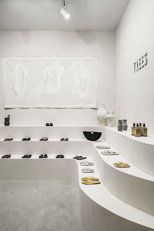 Mẫu Shop Giày Dép Thời Trang Nữ