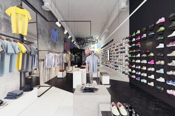 Thiết Kế Shop Thời Trang Nam Hiện Đại Ở Đà Nẵng